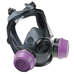 NOR068-54001 - North Safety - 5400 Series Low Maintenance Full Facepiece Respirators