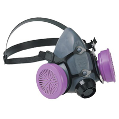 NOR068-550030L - North Safety5500 Series Low Maintenance Half Mask Respirators
