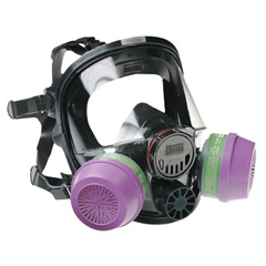 NOR068-760008A - North Safety7600 Series Silicone Full Facepiece Respirators