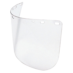 FND068-A8150-40 - HoneywellDie Cut Faceshields, Clear, 15 1/2 In X 8 In, Polycarbonate