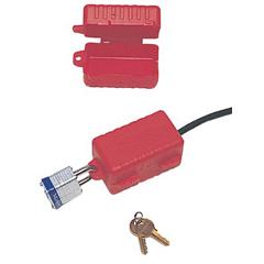 NOR068-LP550 - North SafetyE-Safe Electrical Plug Lockouts