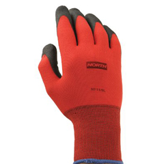 NOR068-NF1111XXL - North SafetyNorthFlex Red™ Foamed PVC Palm Coated Gloves