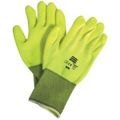 NOR068-NF11HVY7S - North SafetyNorthFlex Neon™ Hi-Viz PVC Palm Coated Gloves