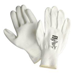 NOR068-NFD158M - North SafetyLight Task Plus II Polyurethane-Coated Gloves