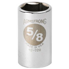"ARM069-12-036 - Armstrong Tools1/2"" Dr. Standard Sockets"