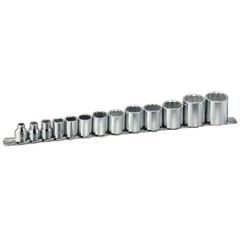 "ARM069-15-355 - Armstrong Tools13 Piece 3/8"" Dr. Standard Socket Sets"