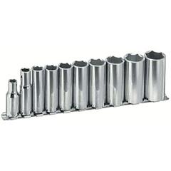 "ARM069-15-390 - Armstrong Tools10 Piece 3/8"" Dr. Deep Socket Sets"