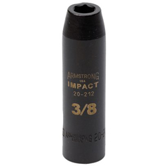 ARM069-20-226 - Armstrong Tools1/2 Dr. Deep Impact Sockets