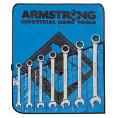 ARM069-25-661 - Armstrong Tools7 Piece Geared Combination Wrench Sets