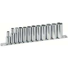 ARM069-44-365 - Armstrong Tools12 Piece Metric 6-Point Deep Socket Sets