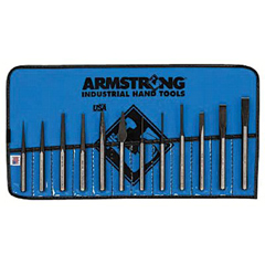 ARM069-70-565 - Armstrong Tools12 Piece Punch & Chisel Sets