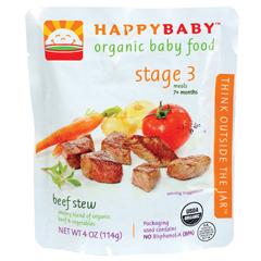 BFG01643 - Happy BabyBeef Stew Pouch 7+ Months
