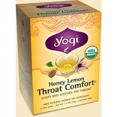BFG26790 - Yogi TeasHoney Lemon Throat Comfort Tea