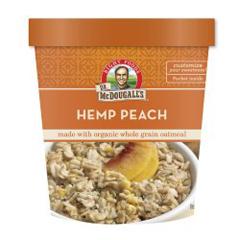 BFG39620 - Dr. Mcdougall'sHemp Peach Oatmeal