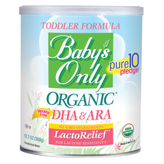 BFG63180 - Nature's One Inc.Babys Only Organic® LactoRelief® Powder Formula with DHA&ARA