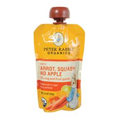 BFG01325 - Peter Rabbit OrganicsCarrot, Squash & Apple Puree Pouch