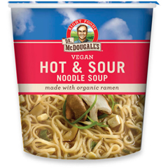 BFG39616 - Dr. Mcdougall'sHot & Sour Soup with Organic Noodles Big Cup