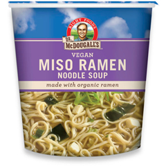 BFG39615 - Dr. Mcdougall'sMiso Soup with Organic Noodles Big Cup