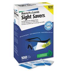 BAL076-8574GM - Bausch & LombSight Savers Pre-Moistened Cleaning Tissues Dispenser Box