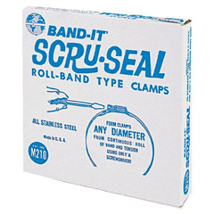 ORS080-M21099 - Band-It - Scru-Seal™ Clamp Band Sets