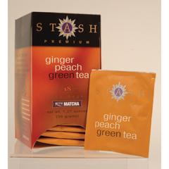 BFG29336 - Stash TeaGinger Peach Green Tea