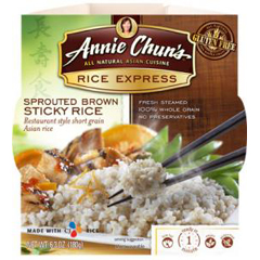 BFG21421 - Annie Chun'sSprouted Brown Sticky Rice Express