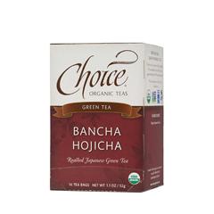 BFG28146 - Choice Organic TeasBancha Hojicha Tea (Toasted Green Tea)