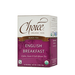 BFG28142 - Choice Organic TeasFair Trade English Breakfast Tea