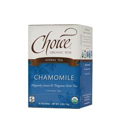 BFG28141 - Choice Organic TeasFair Trade Chamomile Herbal Tea