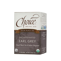 BFG28149 - Choice Organic TeasFair Trade Decaffeinated Earl Grey Tea