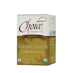 BFG28123 - Choice Organic TeasFair Trade Classic Green Tea