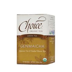 BFG28136 - Choice Organic TeasGenmaicha Green Tea with Toasted Brown Rice