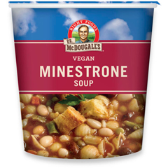 BFG39610 - Dr. Mcdougall'sMinestrone & Pasta Soup Big Cup