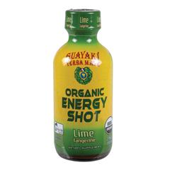 BFG33403 - GuayakiLime Tangerine Organic Energy Shot