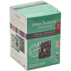 BFG25508 - Two Leaves And A BudPeppermint Herbal Tea