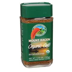 BFG04306 - Mt. HagenOrganic Freeze Dried Instat Coffee Decaf