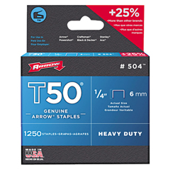 ARF091-504 - Arrow FastenerT50 Type Staples