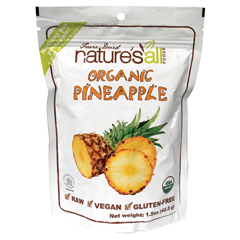 BFG05532 - Nature's All FoodsRaw Dried Pineapple