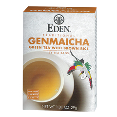 BFG28199 - Eden FoodsGenmaicha Tea (Green Tea & Toasted Brown Rice)