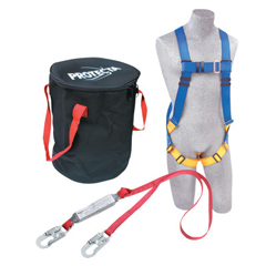 DBI098-2199808 - DBI SalaProtecta Compliance-In-A-Can Roofers Fall Protection Kit, Harness; Anchorage