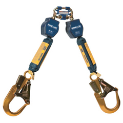 DBI098-3101277 - DBI SalaNano-Lok Self-Retracting Lifeline, 6 Ft, Harness Connection, 420 Lb Cap., 2 Legs