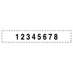 USST5558 - U. S. Stamp & Sign® Professional Numberer