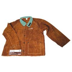 BWL902-1200-L - Best WeldsSplit Cowhide Leather Jacket, Large, Lava Brown