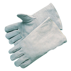 BWL902-3000 - Best WeldsEconomy Welding Gloves, Economy Shoulder Leather, Large, Gray