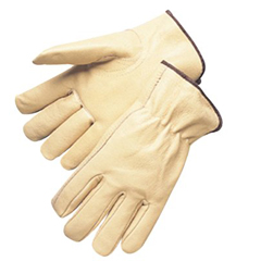 ANC101-4800S - Anchor Brand4000 Series Pigskin Leather Driver Gloves