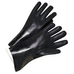 ANR101-7400 - Anchor Brand14 In Long PVC-Coated Jersey-Lined Gloves, Black