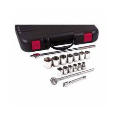 ANC103-07-866 - Anchor Brand - 17-Piece Standard Socket Set