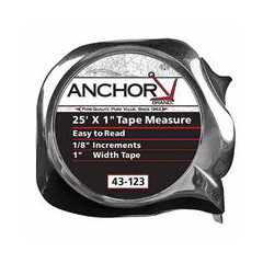 ANC103-43-119 - Anchor Brand - Easy To Read Tape Measures