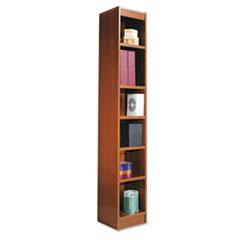 ALEBCS67212MC - Alera® Narrow Profile Bookcase With Finished Back