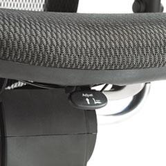 ALEEQA42ME10B - Alera® EQ Series Ergonomic Multifunction Mid-Back Mesh Chair